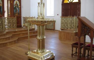 Изготовление элементов внутреннего церковного убранства
