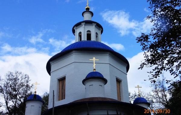 Богоявленский храм, Москов. обл-ть, с. Петрово-Дальнее