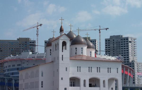 Храм в честь преподобного Сергия Радонежского, г. Москва, Ходынский бульвар