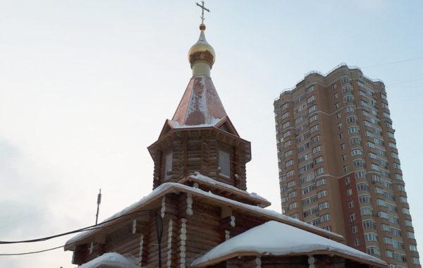 Храм в честь 12 Апостолов в Ховрино, Москва, ул. Клинская
